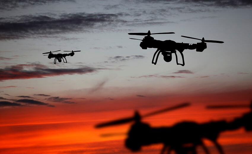 How drones can help authorities control the spread of COVID-19