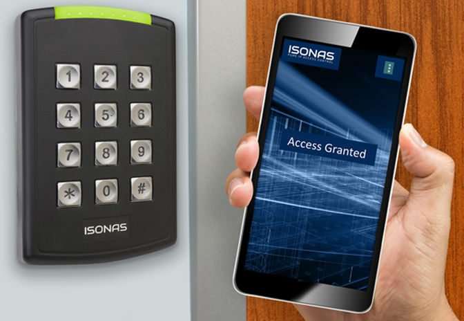 ISONAS unveils pure mobile credentials for hassle-free access control