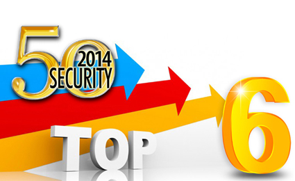 Dahua strong momentum to the 6th in 2014 Security 50 Rankings