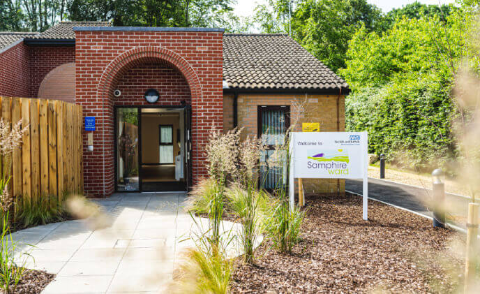 New NHS mental health facility chooses smart access control solution