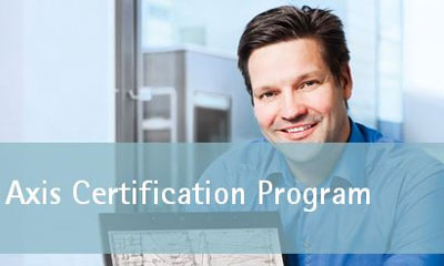 Europe's first security consultant to graduate from Axis Certification Program