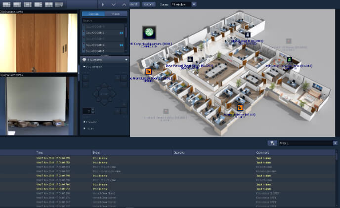 ISS SecurOS v.10 VMS now integrates with Tyco Kantech EntraPass