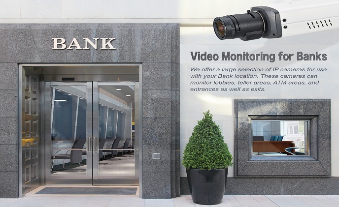 LILIN bank surveillance solutions improve protection against threats