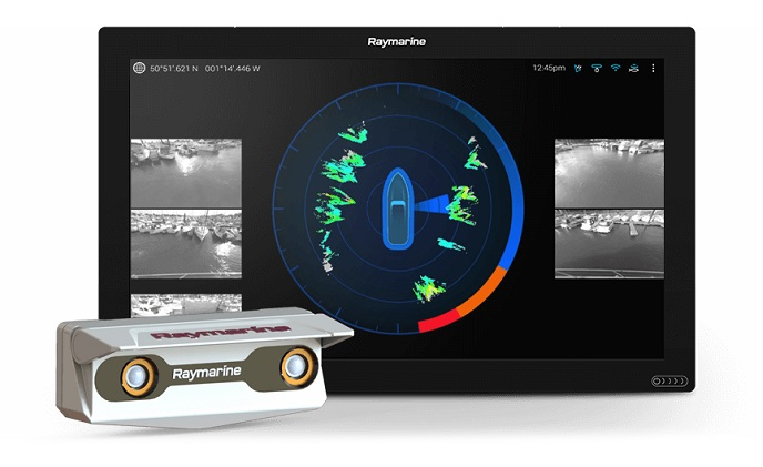 FLIR introduces Raymarine DockSense assisted docking system