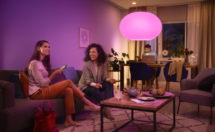 Philips Hue with Bluetooth to set the new look and feel in your room
