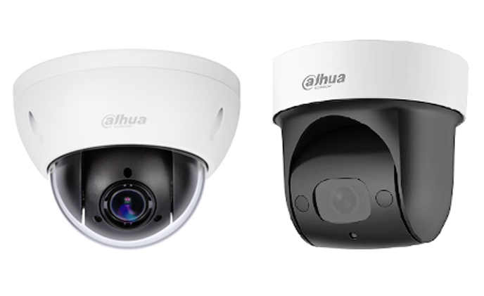 Dahua releases 2-inch network mini PTZ camera series