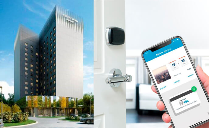 Courtyard Bucharest Floreasca maximizes guest security with ASSA ABLOY