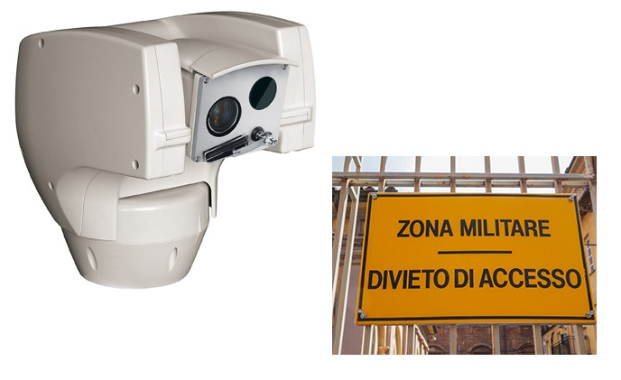 Videotec's Ulisse Compact Thermal, protector of military base in Italy