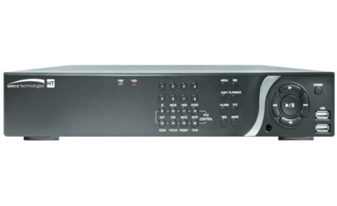 Speco Technologies introduces hybrid DVR with TVI/IP/960H flexibility