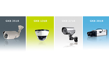 GKB launches 800 TVL Effio-V analog cameras