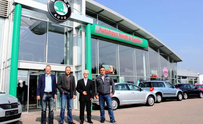 ŠKODA dealership protects its parking with FLIR FC series S thermal imaging cameras