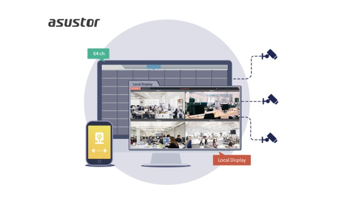 ASUSTOR releases Surveillance Center 2.7 Beta