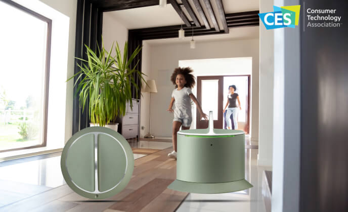 SALTO showcased residential electronic smart lock technology at CES