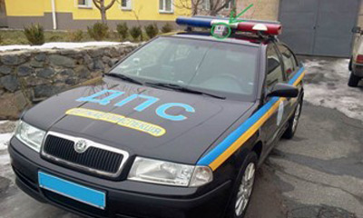 Ukrainian police cruisers are now equipped with robust crime-fighting tools