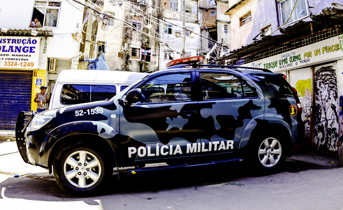Military police of Salvador da Bahia deployed SCATI on-board video system on patrols