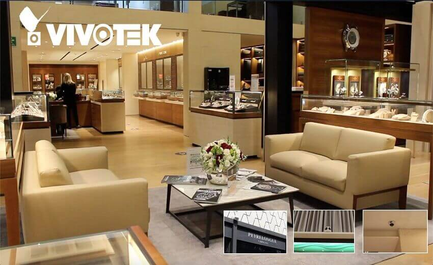 Bespoke high-quality security system for high-end jewelry boutique in Mexico