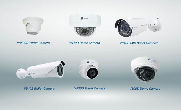 Vicon introduces new H.265 IP cameras