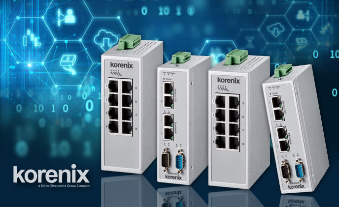 Korenix launches Jetlink Gateway for efficient protocol connection