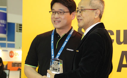 QNAP NVR VS-8148U-RP receives Secutech Excellence Award 2014