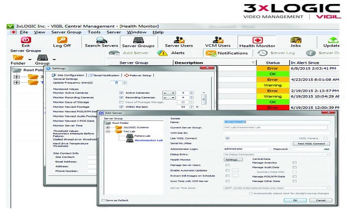 3xLOGIC VCM creates solid RMR for integrators