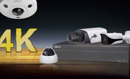 Dahua launches 4K camera