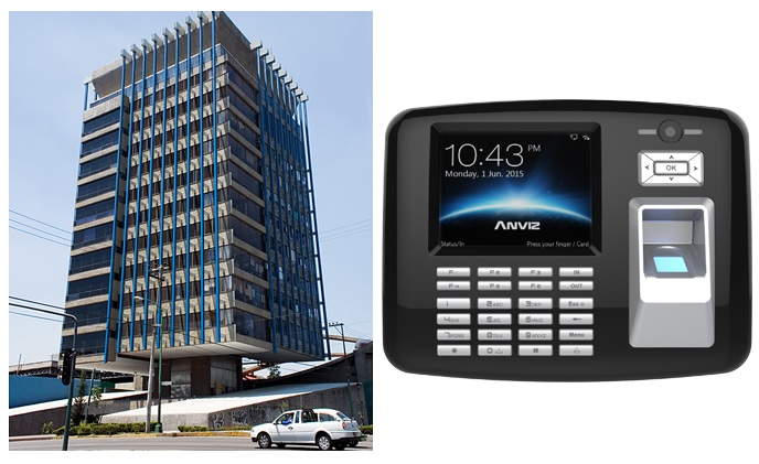 Mexico government SEMARNAT selected Anviz biometric solution to control building access nationally