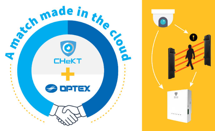 OPTEX partners with visual-verification technology from CHeKT