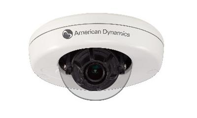 Tyco Security/American Dynamics compact IP mini-domes feature HD
