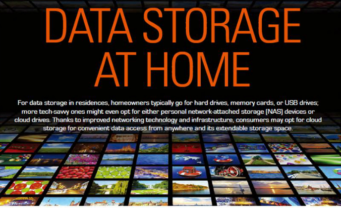 Data storage at home