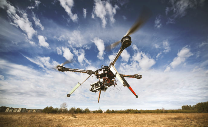 Drones in the wrong hands pose a serious threat