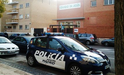 Madrid municipal police outfits patrol cars with VIVOTEK cameras