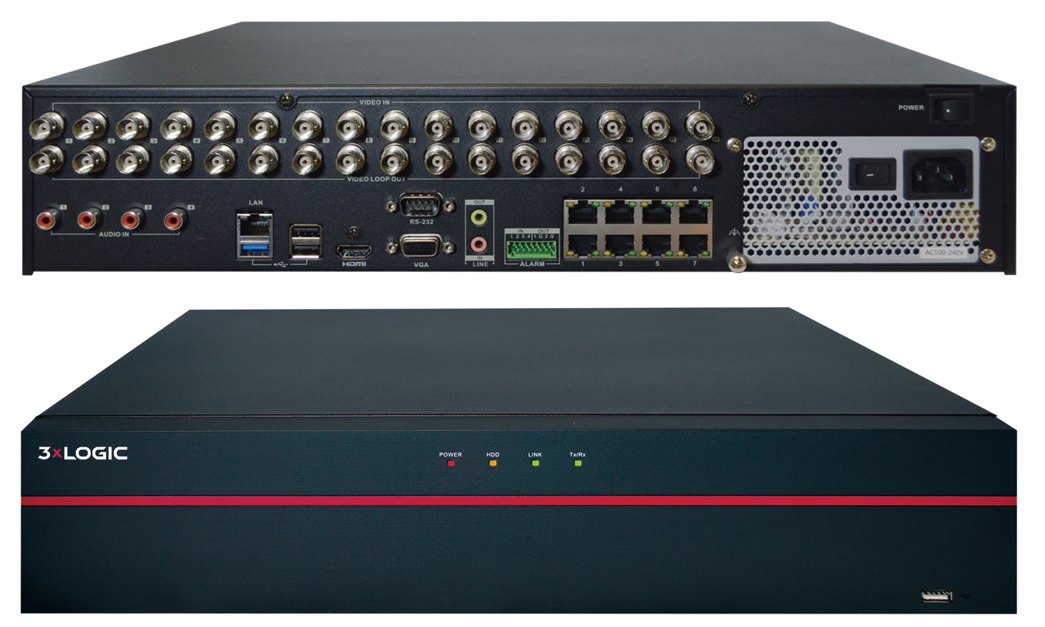 3xLOGIC introduces VIGIL V250 Hybrid NVR