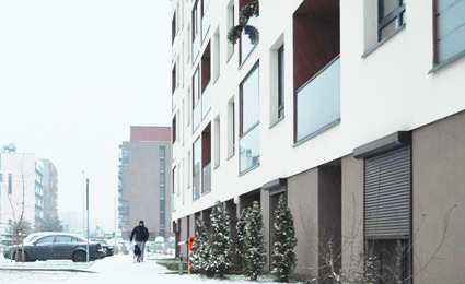 AVTECH solution deployed by Lithuanian parking garage in a residential building