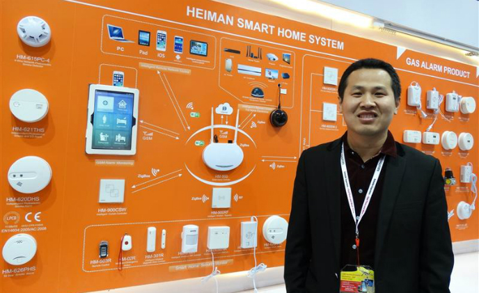 Heiman: Security and safety sensors are cornerstones of smart home systems