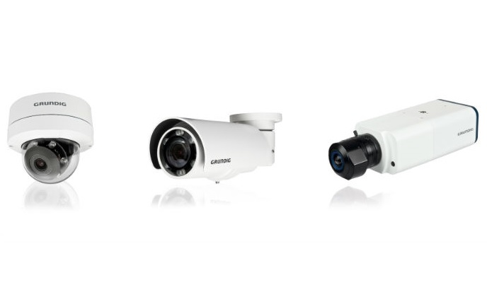 Advanced sensor technology ensures Grundig's 3-megapixel IP cameras