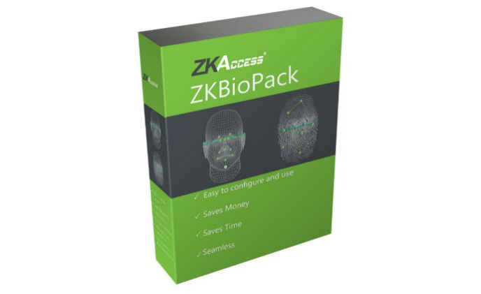 ZKAccess announces ZKBioPack software