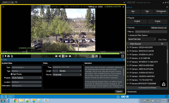 Pelco announces integration of VideoXpert with iView Systems