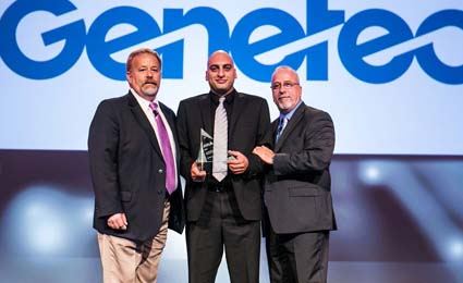 Genetec wins 2014 Axis Communications ADP of the Year Award