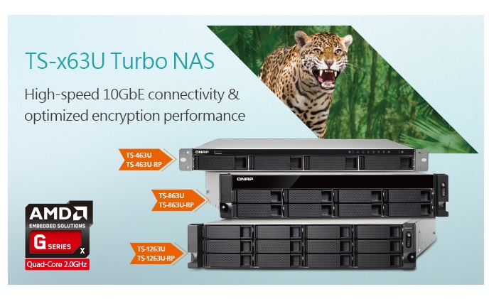 QNAP launches NAS with hardware encryption and 10Gbe switch