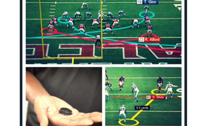 National Football League and Zebra Technologies to provide 'Next Gen Stats' for 2014