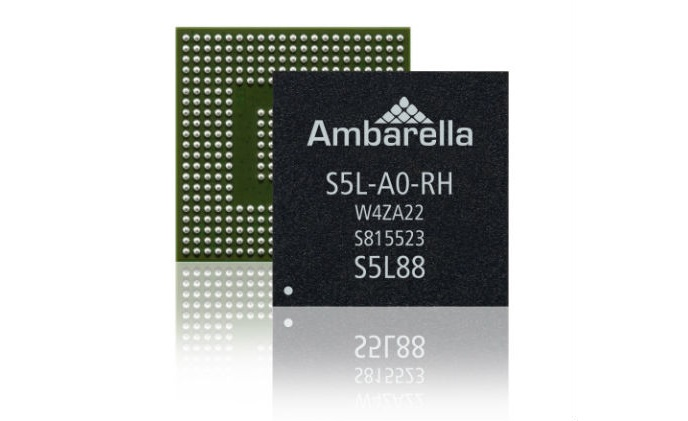 Ambarella introduces S5L Family of 4K SoCs for IP security cameras