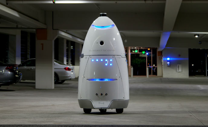 This hefty, 5-ft robot could replace your security guards