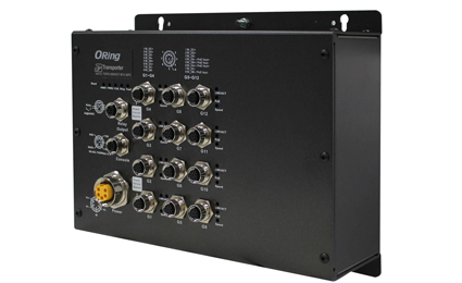 ORing presents Gigabit Ethernet PoE switches for railway applications