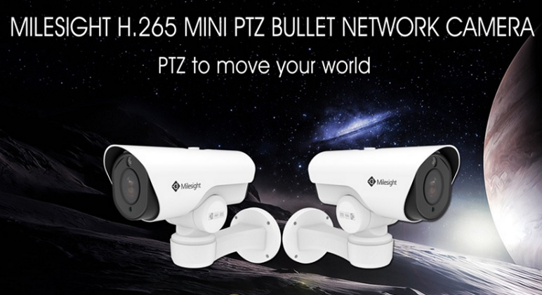 Milesight announces availability of new Mini PTZ Bullet