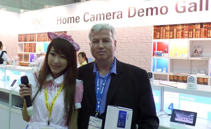 [Secutech 2014] SMAhome Int'l Exhibition live demo gallery of home cameras