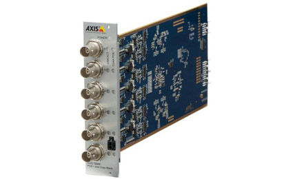 Axis T8648 PoE+ over coax blade as multi-channel migration to IP solution