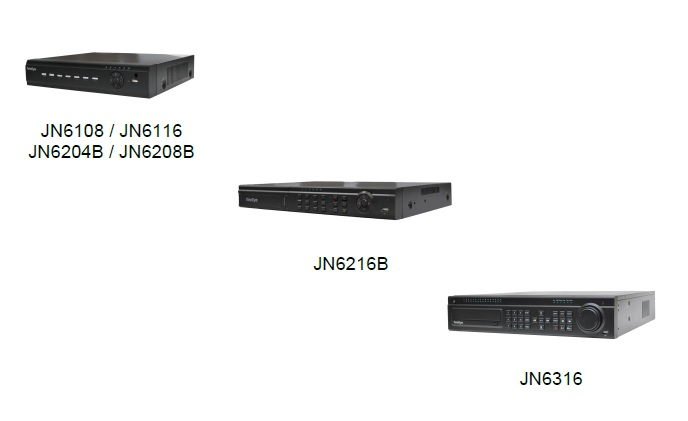 TeleEye launches JN6 series AHD DVRs
