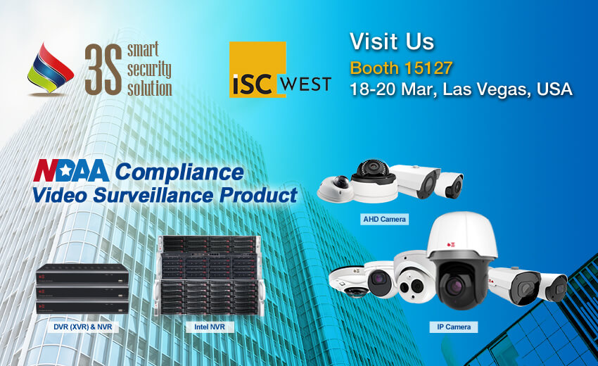 3S to showcase Taiwan-made, NDAA-compliant products at ISC West