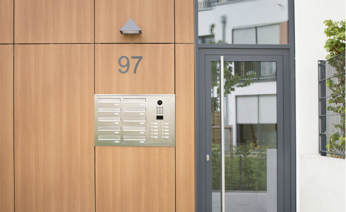 DoorBird and Knobloch make mailbox systems equipped with IP technology