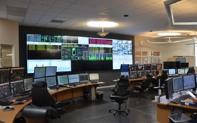 Utility firm boosts control room efficiency with Matrox-powered video wall